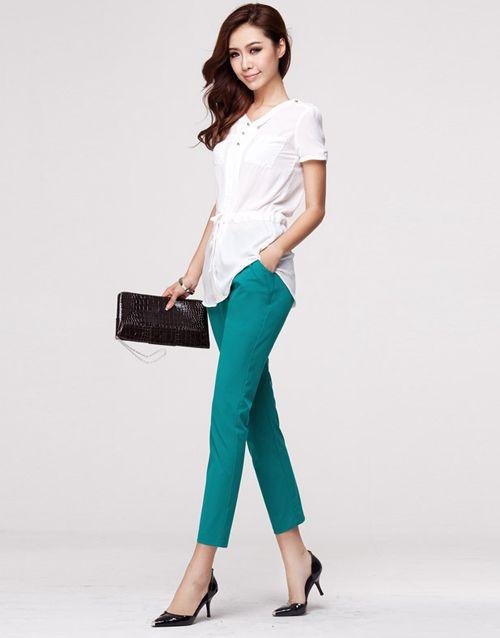 f5 Các mẫu quần Tây đẹp cho Nữ công sở 4