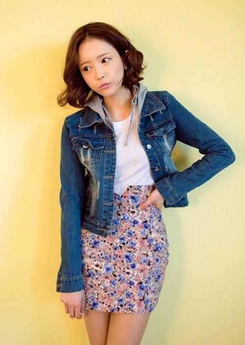 Áo khoác jeans/bò/denim nữ đẹp! Cách phối áo khoác jean 4