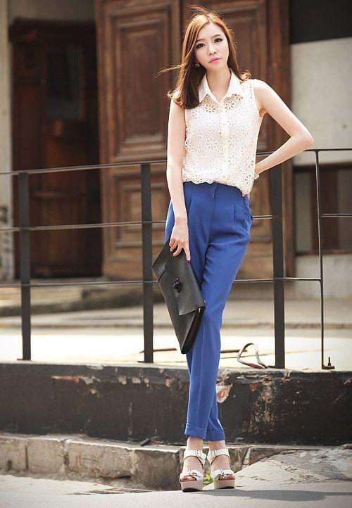 f5 Các mẫu quần Tây đẹp cho Nữ công sở 2