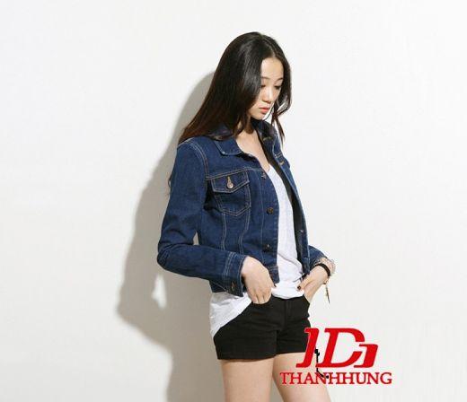 Áo khoác jeans/bò/denim nữ đẹp! Cách phối áo khoác jean 9